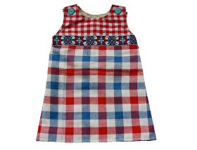 7bd97465 Sukienka dla niemowlaka (wykrój 56-104) | Dutch baby dress (56-104 ...