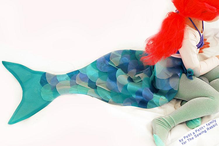 Из чего сделать костюм русалки своими руками