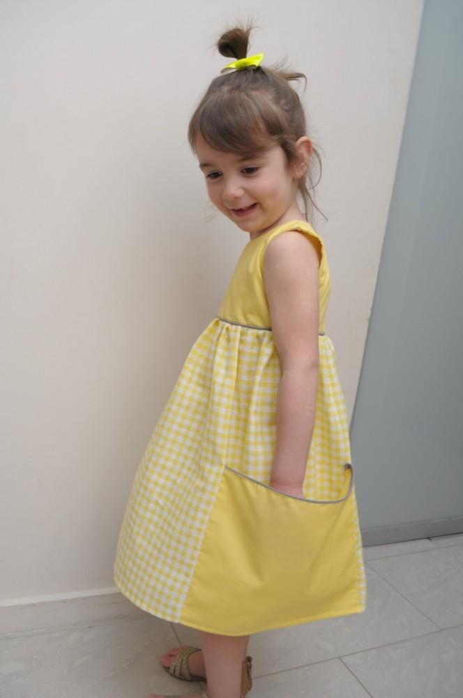 4cade3d068 Sukienka z dużymi kieszeniami